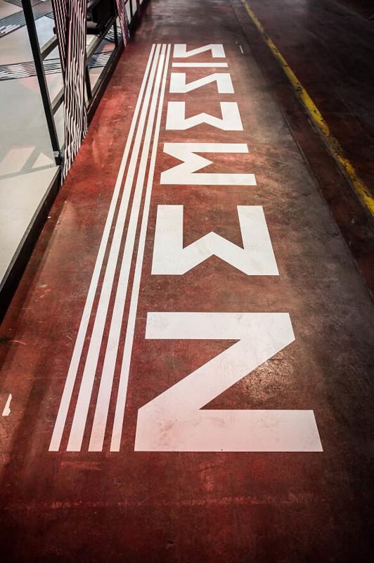 Adidas floorgraphics